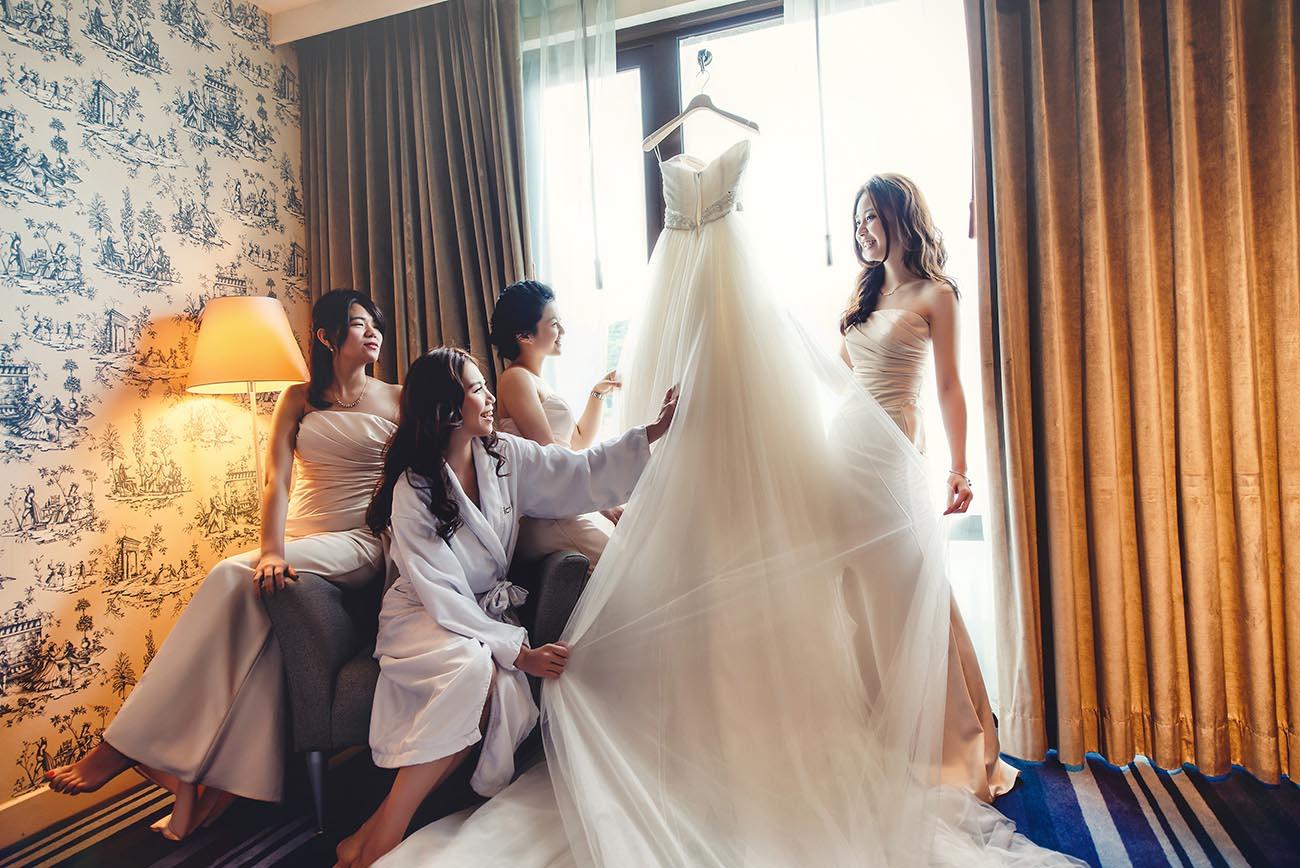 《台北婚攝》跟閨蜜一起就要這樣拍 / 維多麗亞酒店