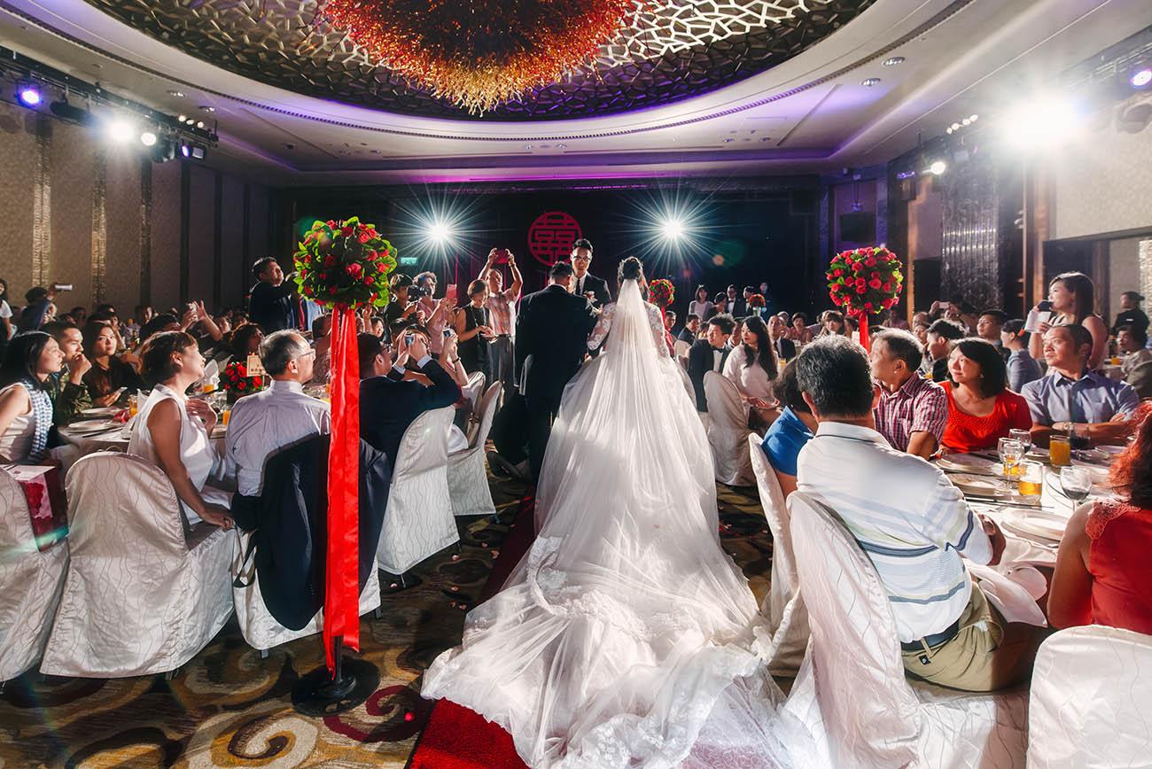 《台北婚攝》讓最在意的畫面永遠留存 / 台北喜來登大飯店