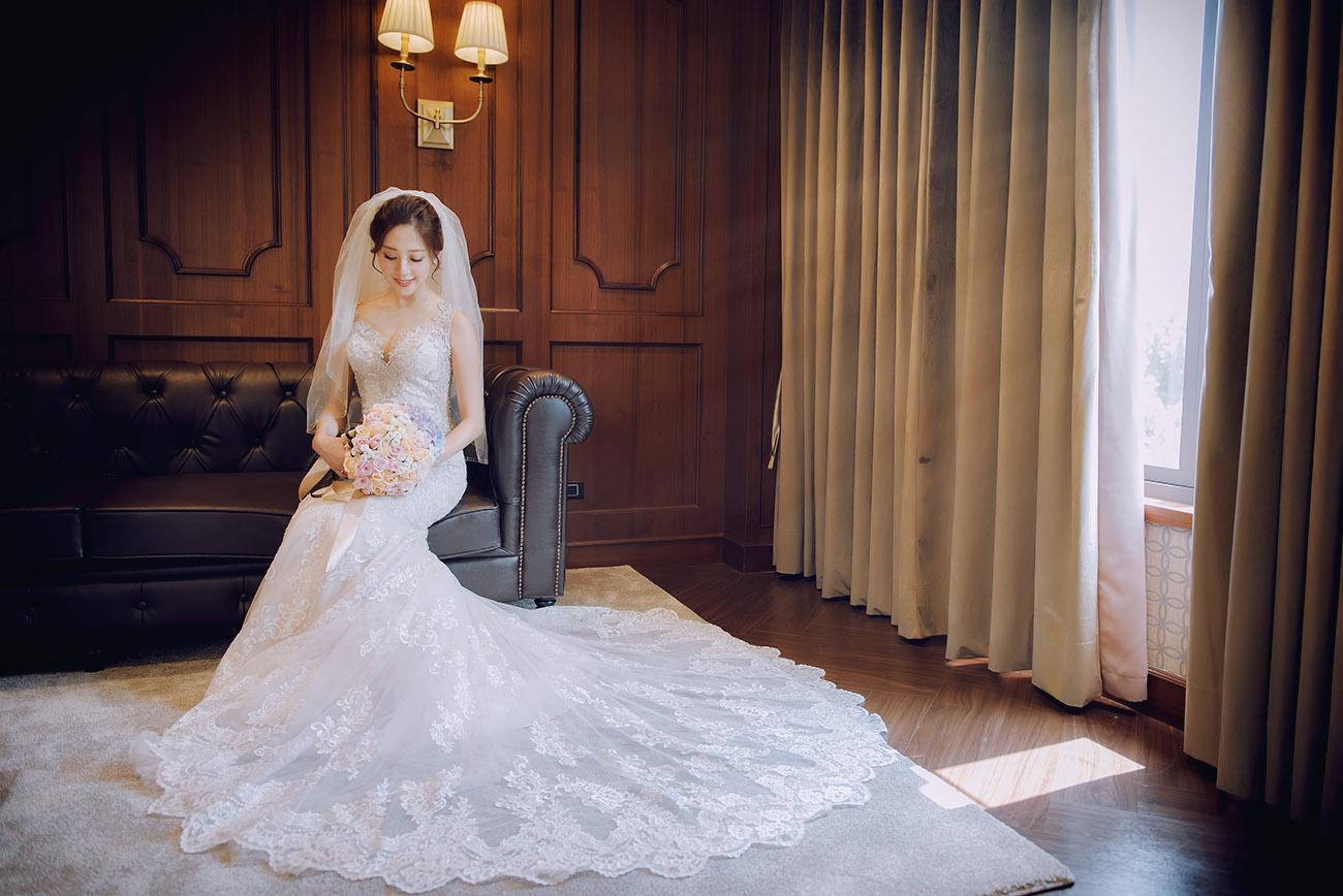 《台北婚攝》令人屏息的唯美時刻 / 翡麗詩莊園