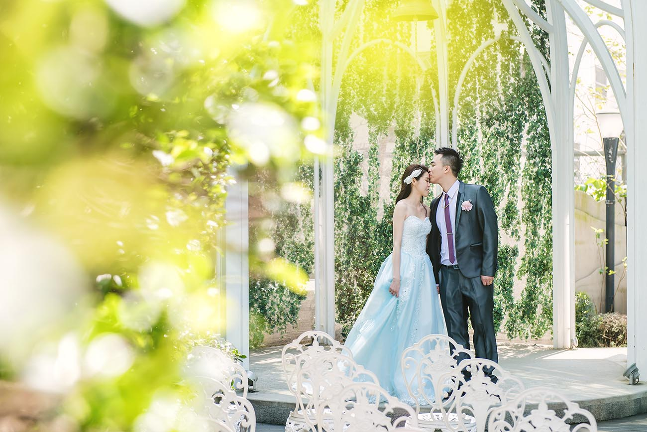 《新竹婚攝》讓婚禮紀錄像再拍一次婚紗 / 晶宴會館 新竹館