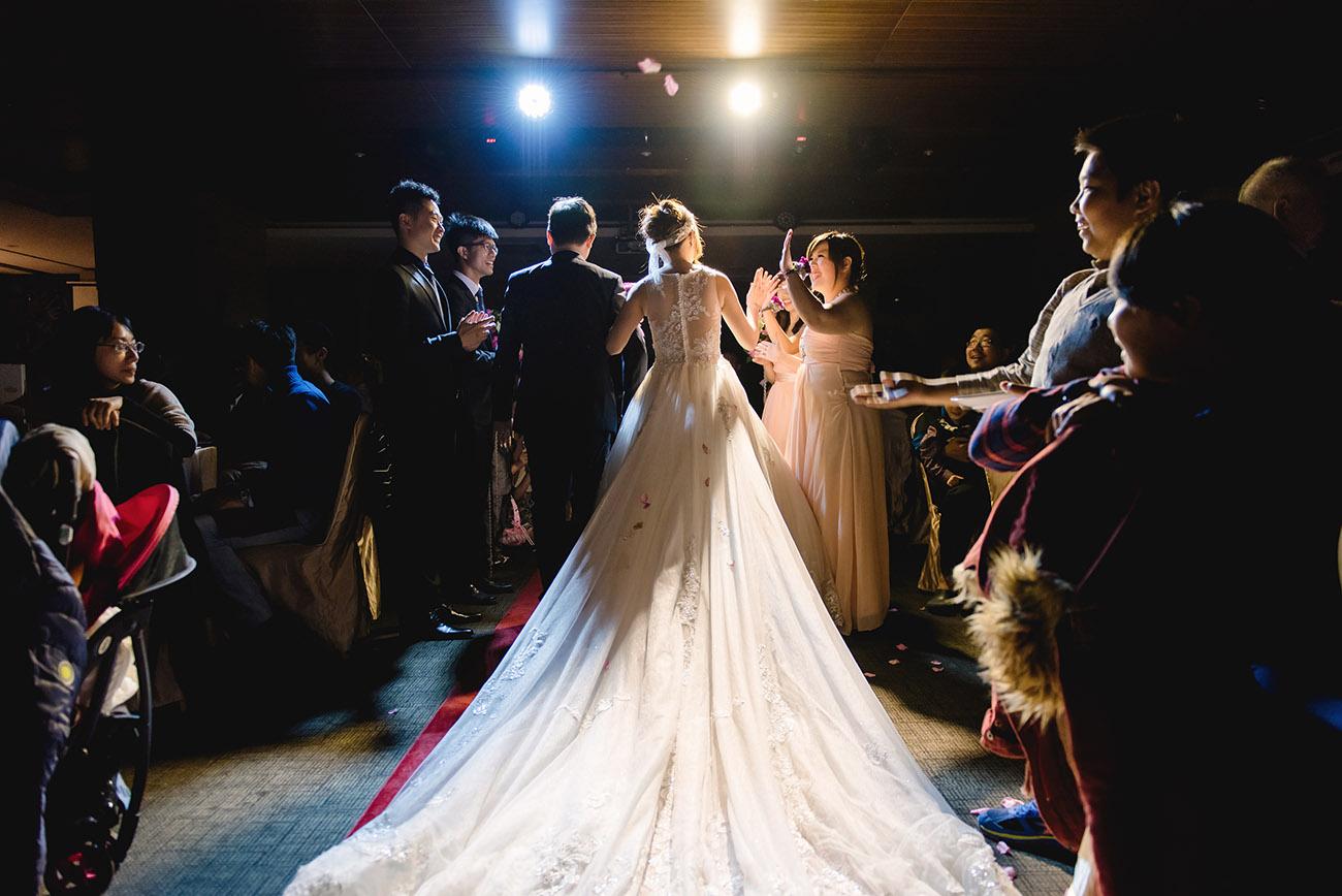 《台北婚攝》願意和一個人攜手步入婚姻 / 福容大飯店