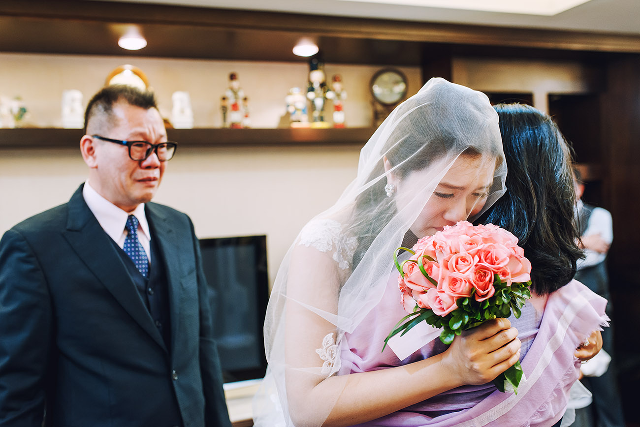 《台北婚攝》逗趣爸爸暗藏洋蔥的叮嚀 / 台北福華大飯店