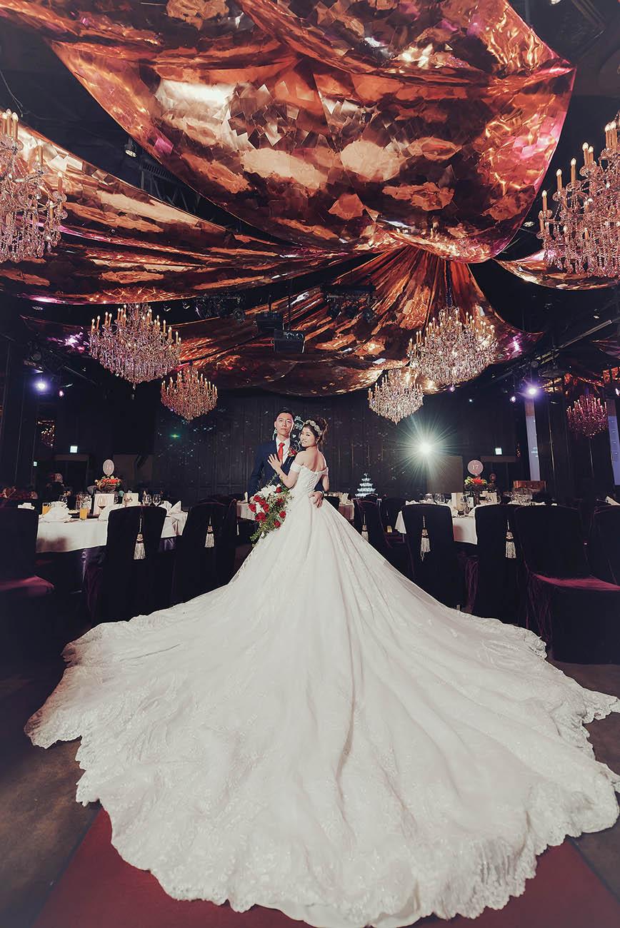無限蔓延的幸福婚禮-君品酒店