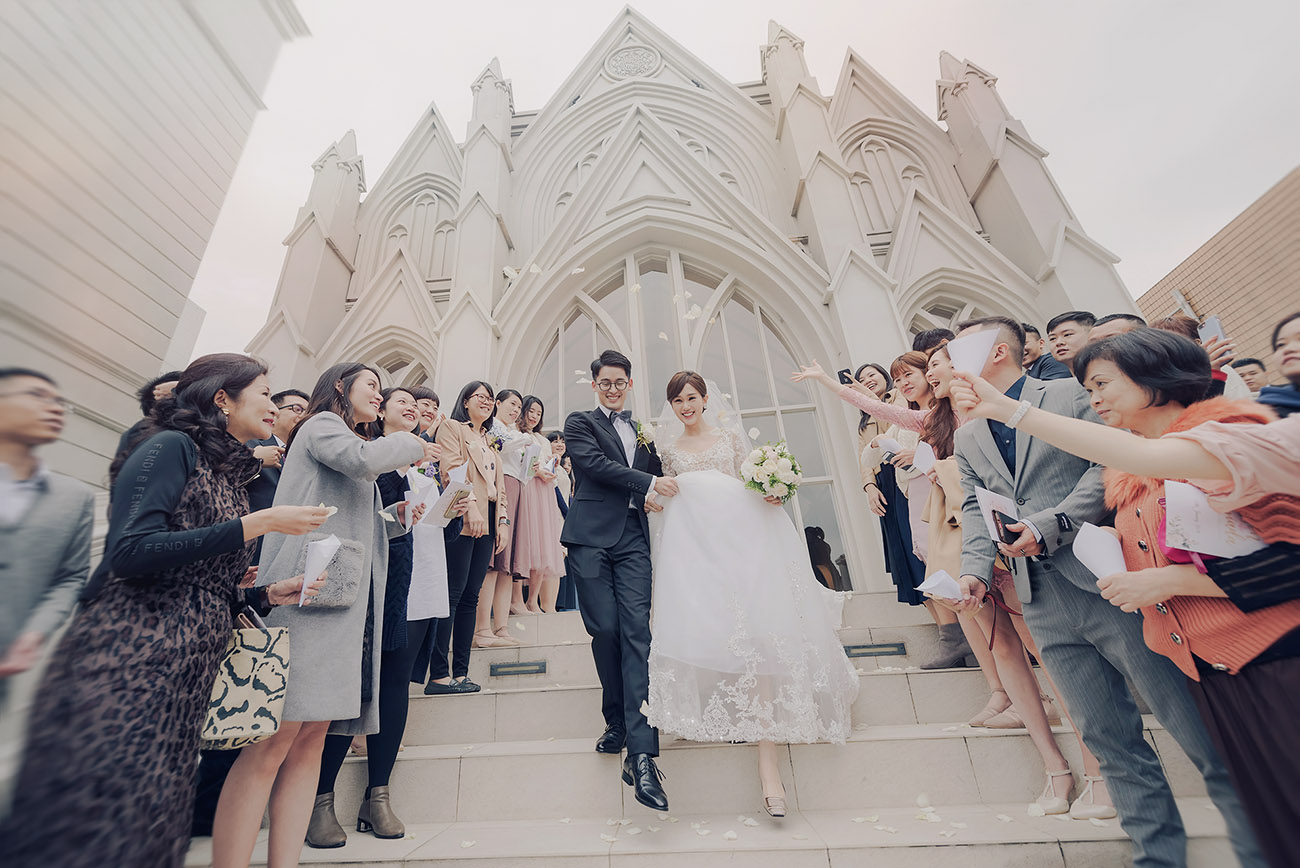 聖潔禮堂的幸福婚禮-翡麗詩莊園