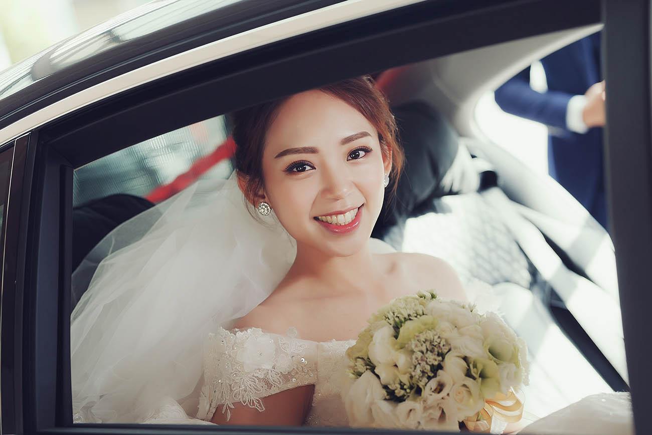 《新竹婚攝》連時光都嘆息的美麗幸福 / 新竹國賓大飯店