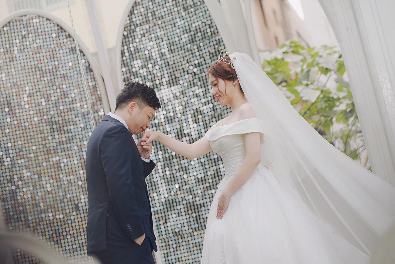 徜徉在婚禮的幸福洋溢-晶宴會館 新竹館
