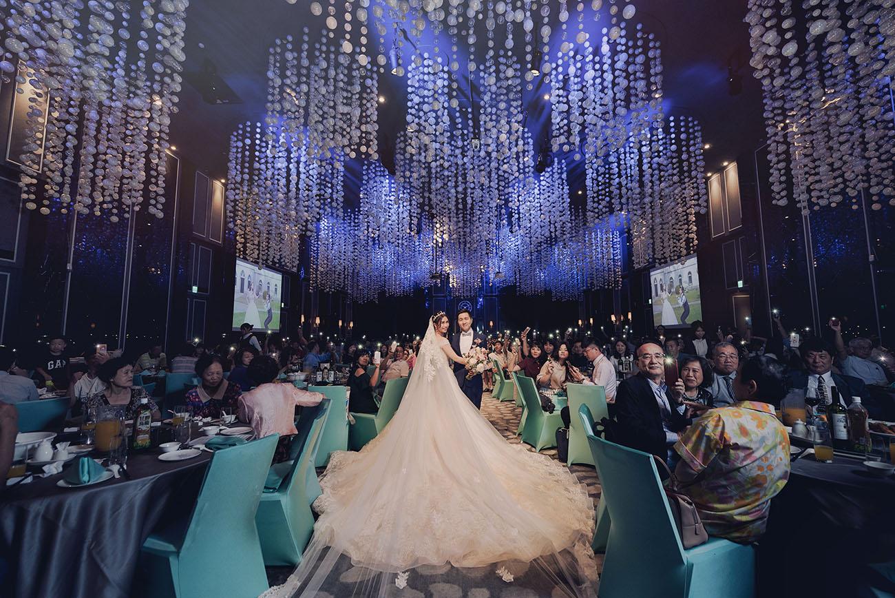 美麗銀河中的閃耀婚禮-晶綺盛宴銀河廳